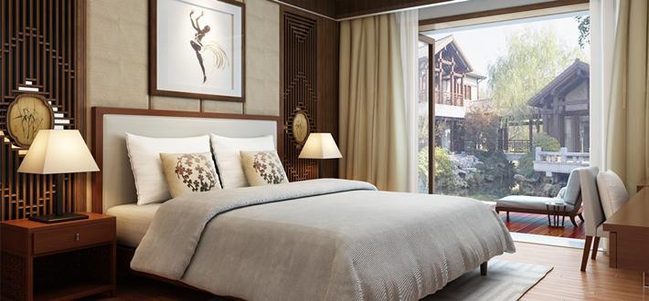褪去浮华的经典卧室