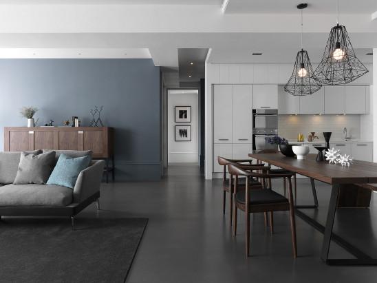 美式复古风格一居室