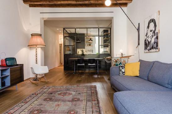 北欧混搭风格一居室设计