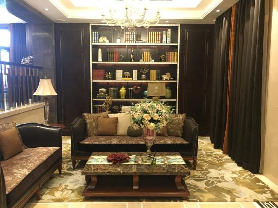 扬州天下美式样板房设计经典案例