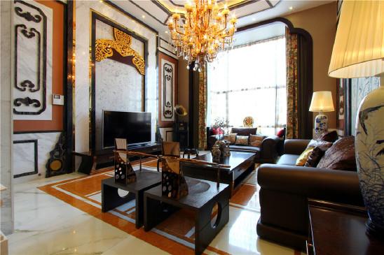 星月城中式风格设计住宅
