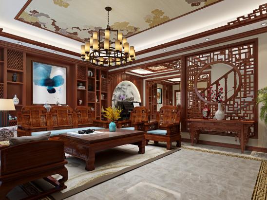 中式经典别墅案例