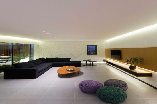用简约明快的手法表现居室空