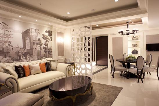 混搭风现代质感二居室