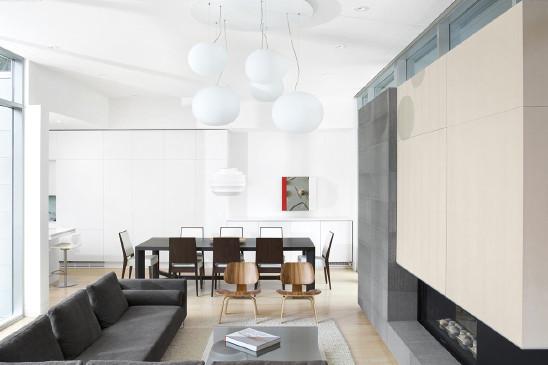 白色格调简约风一居室设计