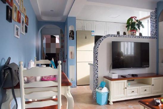 地中海风格两居室