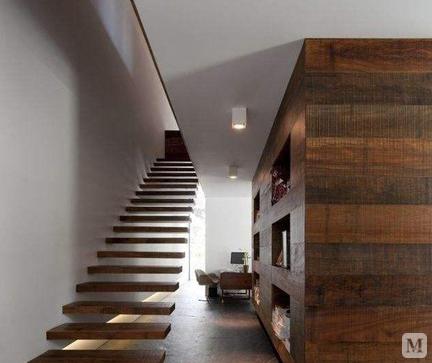 最不占空间的楼梯图片展示以及安装步骤