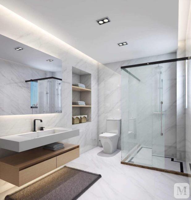 简约浴室装修效果图欣赏 让你的浴室更加美观