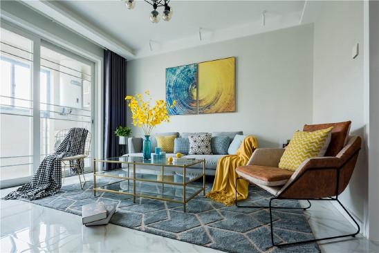 80㎡现代混搭风设计,高颜值的家全靠软装!