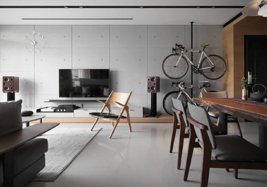 简洁明快的现代二房