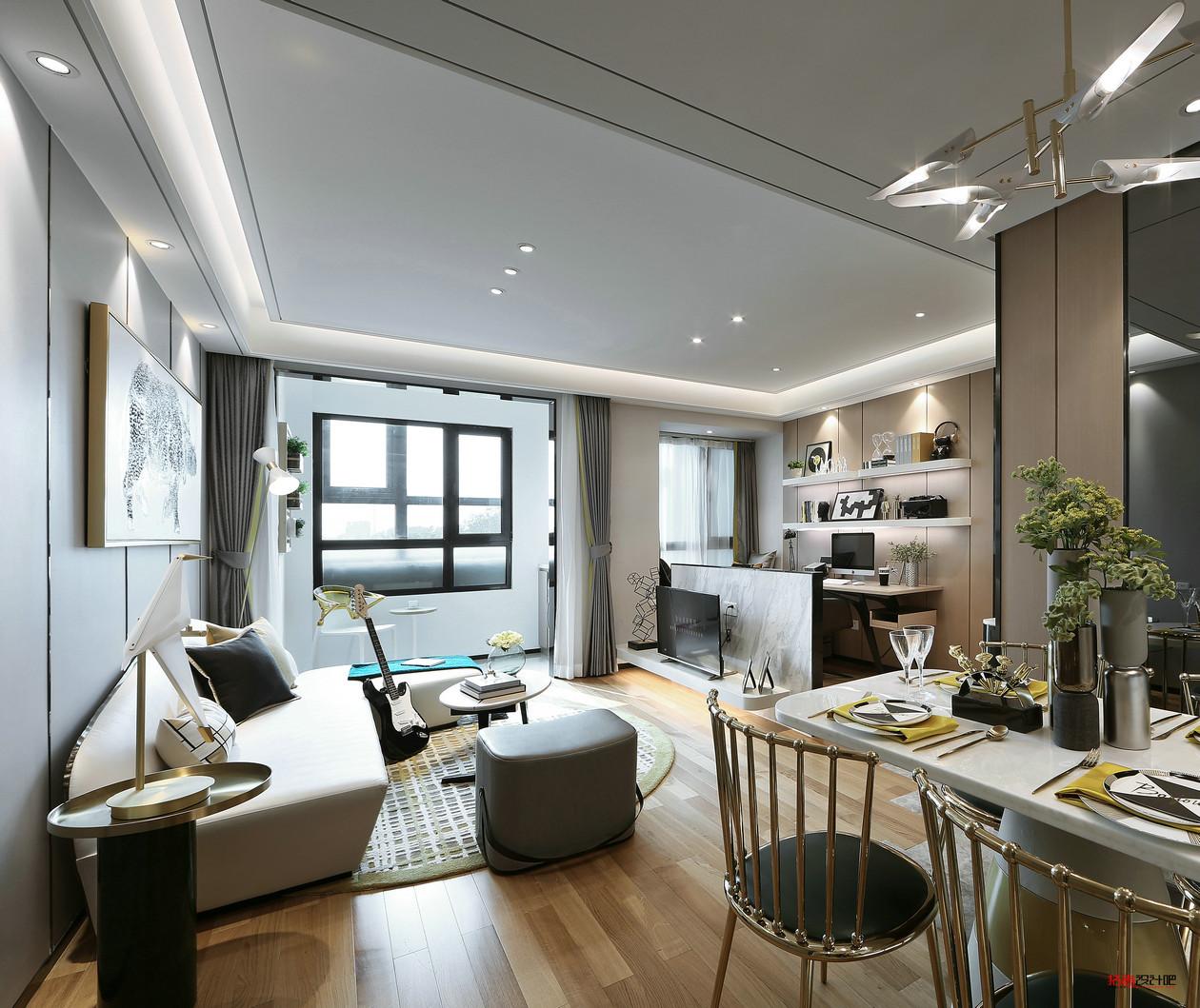 75㎡二居室:在有限的空间内巧妙设计