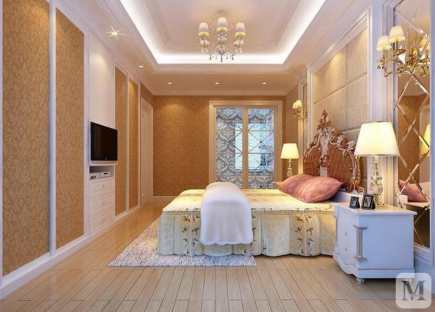 【装修效果图】房间面积小就看看电视墙衣柜装修效果图