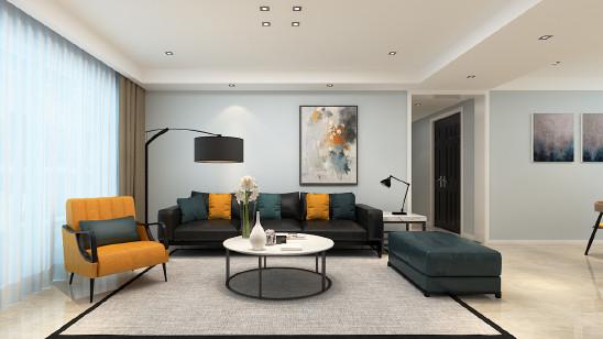保利西山林语137平现代风格设计案例