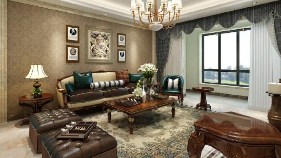 欧式深色家具