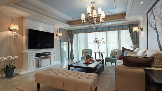 178平美式四居室