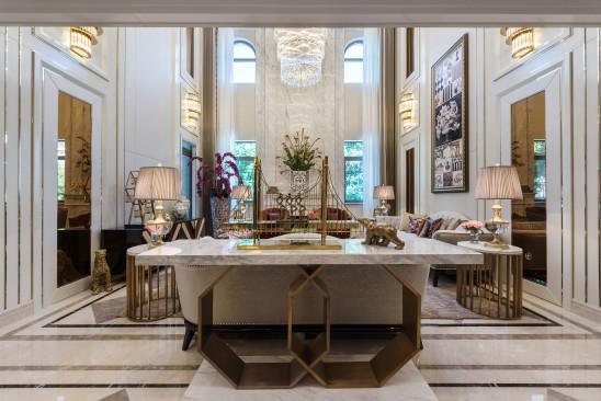 别墅:白色新古典风格