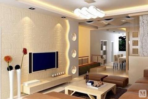 【裝修設計】家裝電視背景墻裝修注意事項以及墻紙的選購技巧介紹