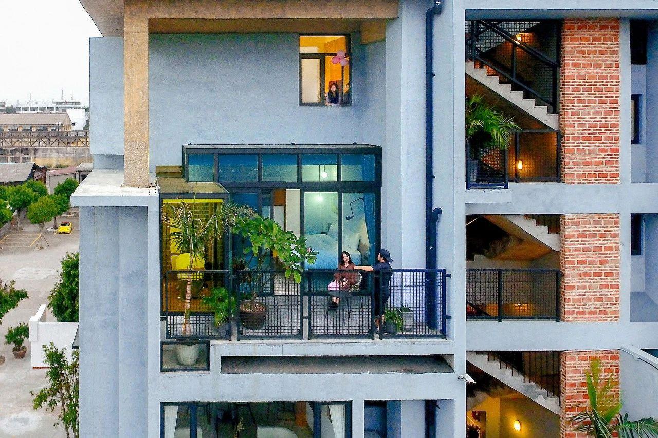 广州6个好友改造一栋楼同居,老了也想在一起
