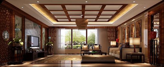 西山一号院新中式风格