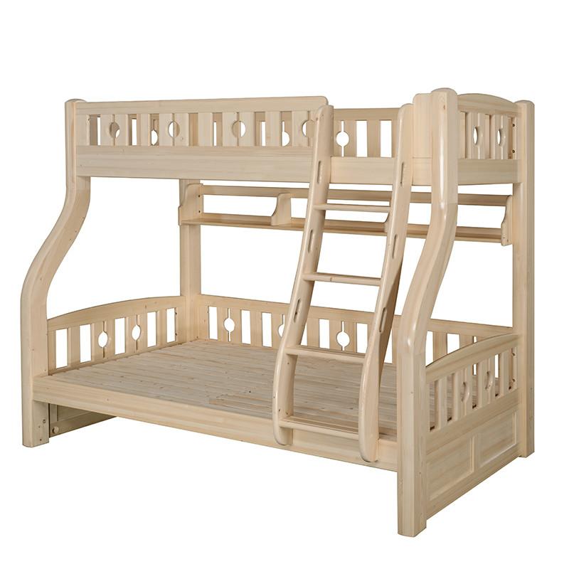 儿童双层实木床