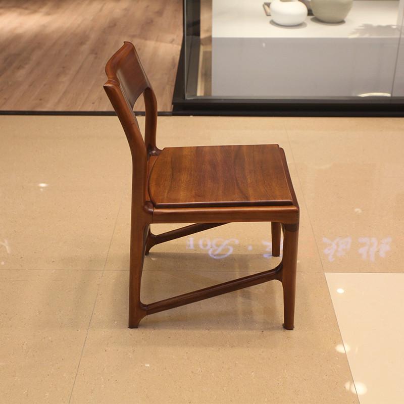 北欧E家2049系列全实木餐椅M-6903