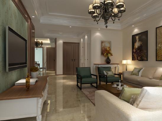 160㎡简约+美式,精致低调的家装设计!