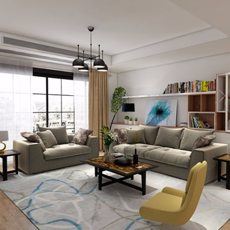 爱依瑞斯沙发布沙发系列戈尔菲