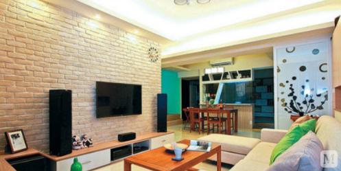 【装饰材料】仿古砖效果图 打造不一样的居室空间