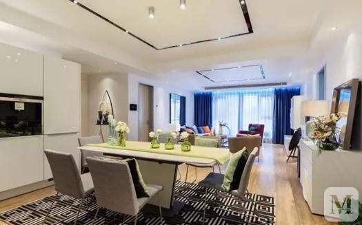【裝修設計】簡約時尚的公寓裝修樣板間  真的是太美了!