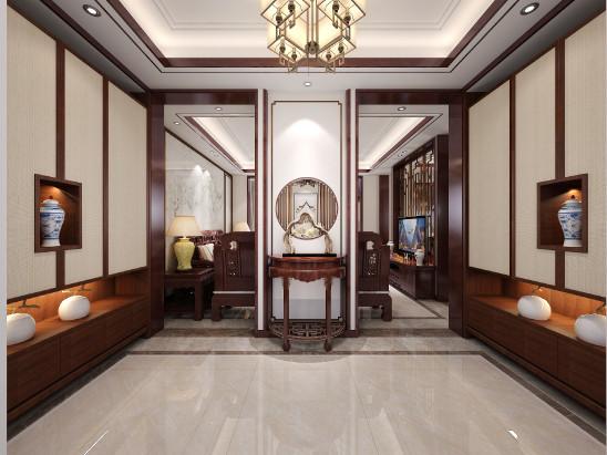 中航城李哥家新中式设计案例