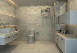 卫生间地砖效果图欣赏以及颜色搭配技巧介绍