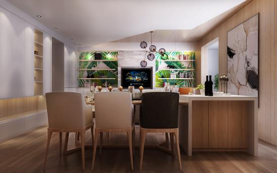 杨达设计作品:自然元素打造多功能亲子之家