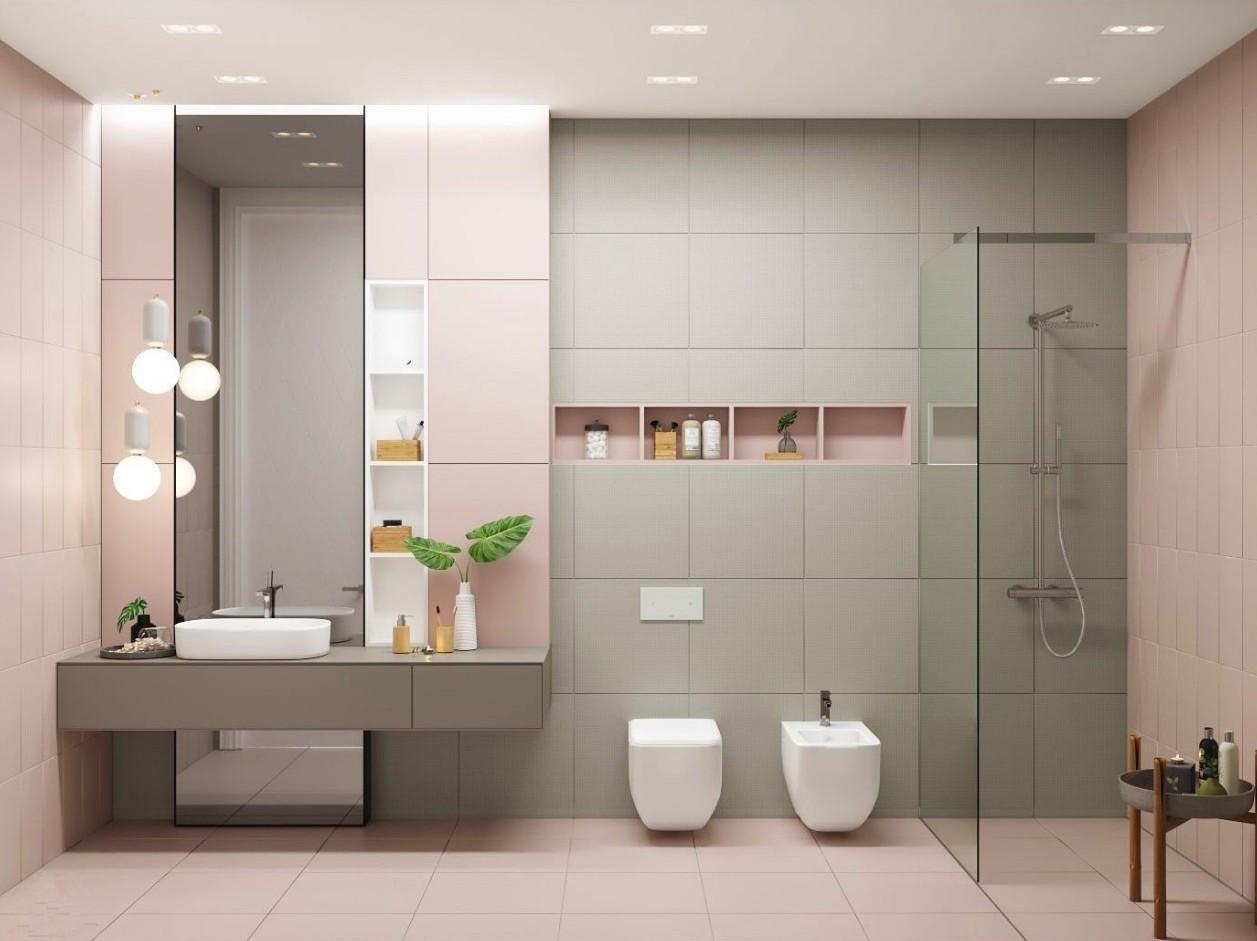 """<5㎡的卫生间收纳,定制化""""壁龛""""设计来拯救"""