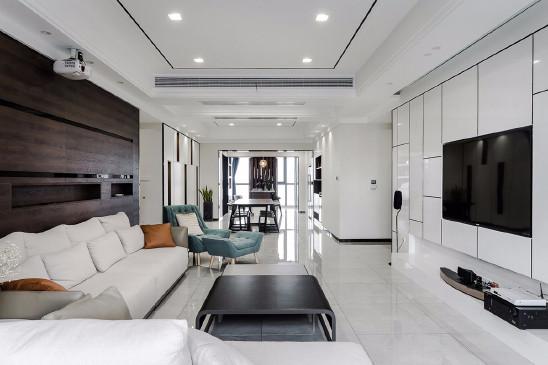 150m²现代简约,港式低奢的生活