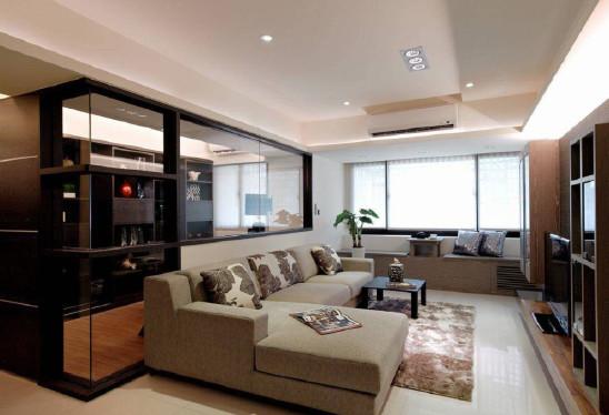 老房翻新现代简约两居室