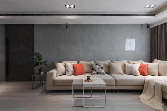 98㎡现代简约公寓,质感蔓延的时尚美宅