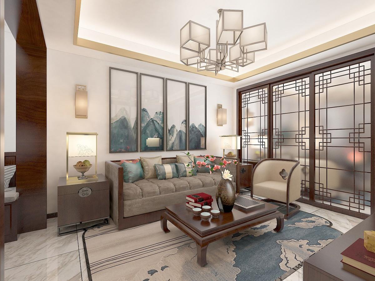 新中式风格二居室