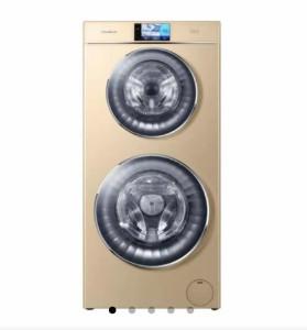 海尔智慧云 卡萨帝洗衣机 复式-双子云裳滚筒洗衣机 海尔智慧云整装家居 C8HU12G1