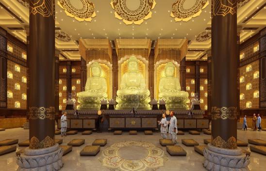 寺庙规划·大雄宝殿