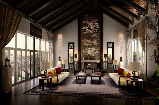 中式宫廷风别墅