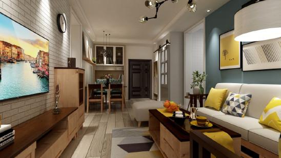 【绿地城】三室两厅现代北欧【柏家居出品】
