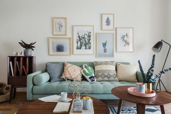 北欧简约小清新装饰画,让家充满童趣!