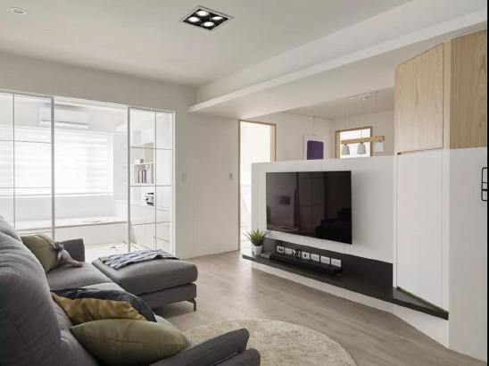 小空间想要住舒服,宽敞明亮的设计少不了