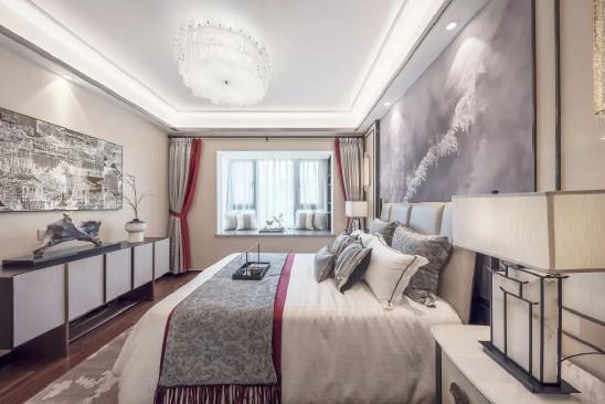 127平米人文国风,四室两厅新中式