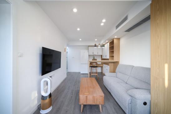 50㎡现代简约一居室在上海安家