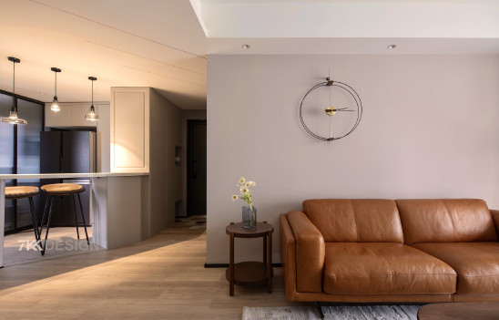 82㎡两居室打造高级质感、科技炫酷的现代北欧风之家!