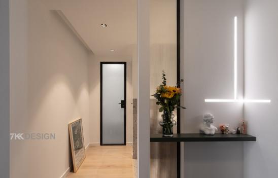 65㎡两房改造,卫生间实现豪宅配置四分离双台盆,玩转高级灰